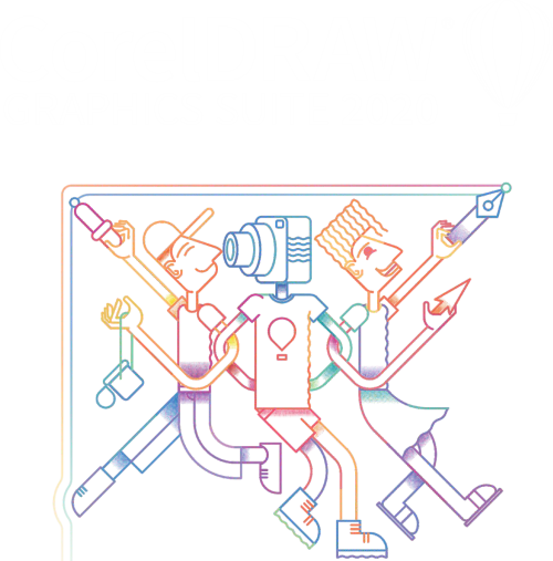 O logo do CorelDRAW 2020