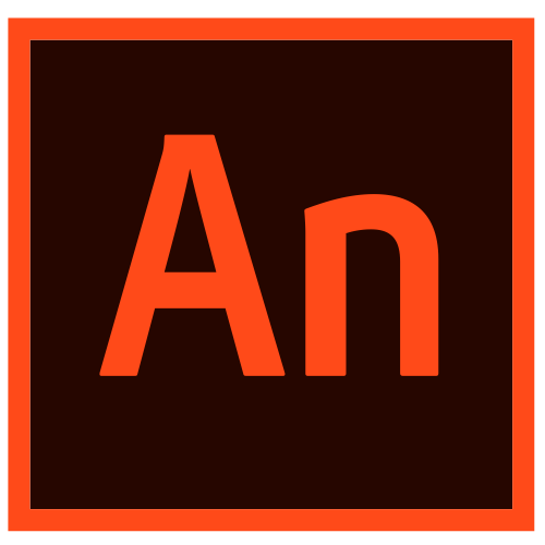 O ícone do Adobe Animate