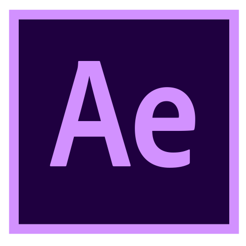 O ícone do Adobe After Effects